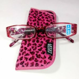 Foster Grant Simba Pink Reading Glasses +2.00